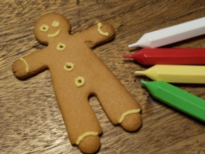 Decorated Gingerbread